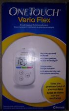 New-ONE TOUCH VERIO FLEX BLOOD GLUCOSE MONITOR METER~BLUETOOTH free shipping