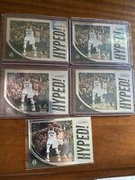 (5) LOT 2019-20 Prizm Giannis Antetokounmpo #3 Get Hyped! Insert SP BUCKS