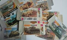 Model kit boxes emty boxes matchbox Various vehicles