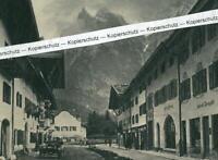 Mittenwald - Blick auf den Karwendel - um 1925  -       S 10-20