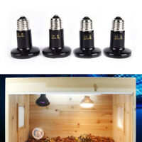 Thickened infrared ceramic emitter heat light bulb lamp for reptile pet broodeME