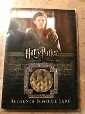 Harry Potter And The OOTP Ginny Weasley Costume Card
