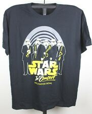 Star Wars In Concert Stormtrooper T Shirt 2011 Hollywood Bowl Black New XL