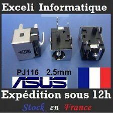 Connecteur alimentation dc power jack PJ116 ASUS N10 N10E N10J N71JQ x73 x73s