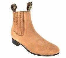 Besserro Charro Boot, Genuine Nobuck Leather, Color Camel, Style 700