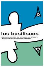 Movie Poster 4 film Los basiliscos.Basilischi.Ita lian.Room home art decor design