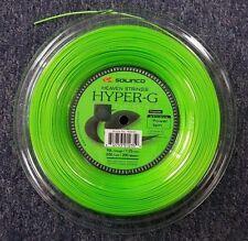 Solinco Hyper G Hyper-G 16L Gauge 1.25mm 656' 200m Tennis String Reel NEW