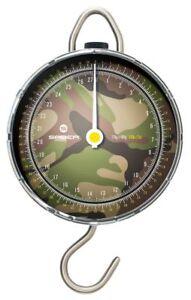 Saber Fishing Scales Camo Dial DPM Portable Weigh Travel Carp Sea Tackle 60lb UK