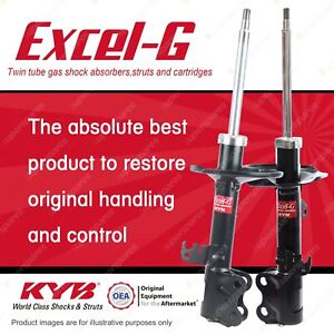 2 x Front KYB EXCEL-G Strut Shock Absorbers for TOYOTA Corolla ZZE122R 1ZZFE 1.8