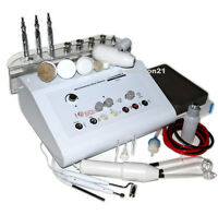 MICRODERMABRASION DERMABRASION 6 in 1 MACHINE HIGH FREQUENCY GALVANIC BRUSH