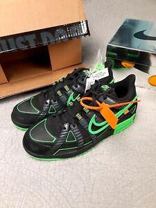 Nike Rubber Dunk x Off White, Green Strike Size 12