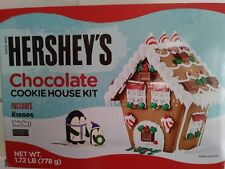 Hershey's Chocolate Cookie House Kit Children's Candy Project Twizzler Kisses