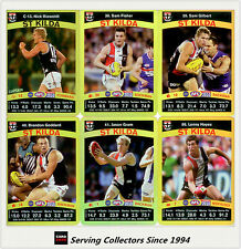 2010 AFL Teamcoach Trading Card Gold Parallel Team Set St. Kilda (12)
