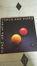 Paul McCartney WINGS Venus and Mars - posters/stickers/inner uk 1975 LP PS EX/EX