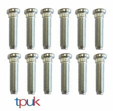 FORD TRANSIT MK6 REAR WHEEL STUDS M14 X 60mm SET OF 12 TWIN WHEEL  A4424984