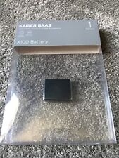 Kaiser Baas X100 KBA12015 Lithium-Ion (Li-Ion) 1000mAh 3.7V Rechargable Battery