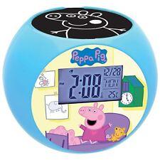 Lexibook Peppa Pig Projektor Funk Wecker Jungen Mädchen