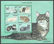PK046 NICARAGUA PETS CATS FAUNA DOMESTIC ANIMALS 1KB MNH STAMPS