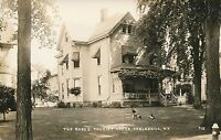 COBLESKILL NY – The Roses Tourist Lodge Real Photo Postcard rppc