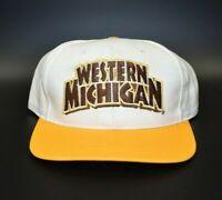 Western Michigan Broncos Twins Enterprise Vintage 90s Snapback Cap Hat - NWT