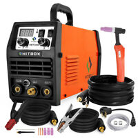HBT2000 2in 1 MMA TIG ARC Welding Machine LED TIG Welders 200AMP 110/220V IGBT