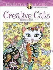 Creative Haven Creative Cats Coloring Book (Adult) Michaels
