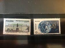 Poland 1991 Europa CEPT,Space.Architecture.Palace. SC3098,3015 Mi3314,3331