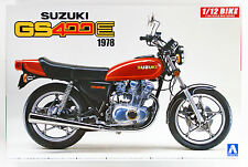 Aoshima 53119 Bike 28 Suzuki GS400E 1/12 scale kit