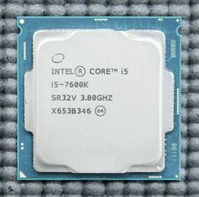 Intel Core i5 7600K 7600 K Processor CPU 3.8GHz LGA1151 + WARRANTY