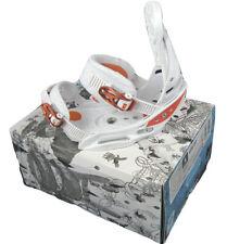 NEW! $280 Burton Lexa  EST Womens Snowboard Bindings!  Small  White & Orange