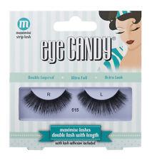Eye Candy 50's Style DOUBLE Lashes - 015 - False Eyelashes with Glue Adhesive