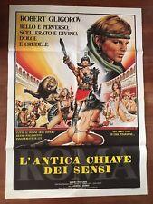 manifesto,2F  ROMA  L' ANTICA CHIAVE DEI SENSI, GLIGOROV, SEXY HARD EROTICO