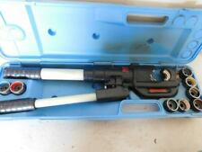 Thomas Amp Betts Tbm14m 14 Ton Hydraulic Crimper Crimping Tool With 9 Dies