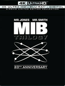 Men in Black Trilog (20th Anniversary Edition) [New 4K UHD Blu-ray] With Blu-R