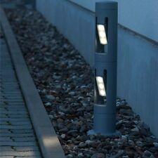 Lutec Cylin 6142-2-730 LED Außenleuchte Wegleuchte Stehleuchte grau