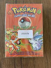 Brushfire Pokemon Card Theme Deck WOTC 1999 Sealed | Unopened | New