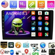 """10.1"""" Double 2DIN Android 8.1 Car stereo Radio In dash GPS Navigation Mp5 Player"""