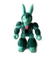 Hare Razing Rabbit #22 Vintage Battle Beasts Action Figure w/ Rub 1987 Hasbro