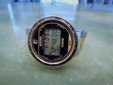 Vintage Uber Rare Timex Microsoft Data Link 150 Original Band Large Case Digital