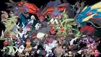 Pokemon Card Bundles 30 Darkness Types - RARE / REV HOLO GUARANTEED NEW JOBLOT