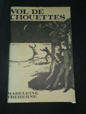 VOL DE CHOUETTES - Madeleine Treherne French Text Book  with questions & vocab