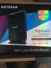 NETGEAR - Nighthawk Dual-Band AC1900 Router C7000-100NAS