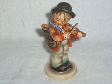 """Goebel """"Little Fiddler"""" Boy With Fiddle #4 Figurine Tmk 3"""