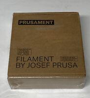 Prusa Prusament PLA 3D Printer Filament 1.75mm 0.015mm Prusa Orange New