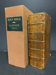 1551 Matthew - William  Tyndale Bible | Printed by J. Wallley for Nicolas Hyll-