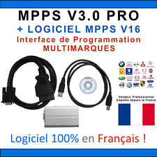 Valise MPPS V3.0 Pro Logiciel MPPS V16 - VAGCOM OBD2 OBD REPROGRAMMATION