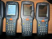 Lot  x3 Datalogic skorpio with batteries included  Ce 5.0 wifi radio summit