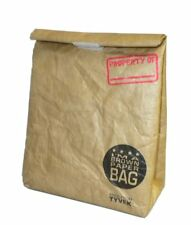 I'M A Brown Paper Bag Reusable Insulated Lunch Bag with Closure and Tear Proof