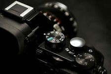 Lolumina 13mm Silver Soft Shutter Release Button for Fujifilm X-T1 Sony Nikon
