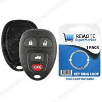 Replacement for Pontiac G5 G6 Grand Prix Solstice Remote Key Fob 4b Shell Case